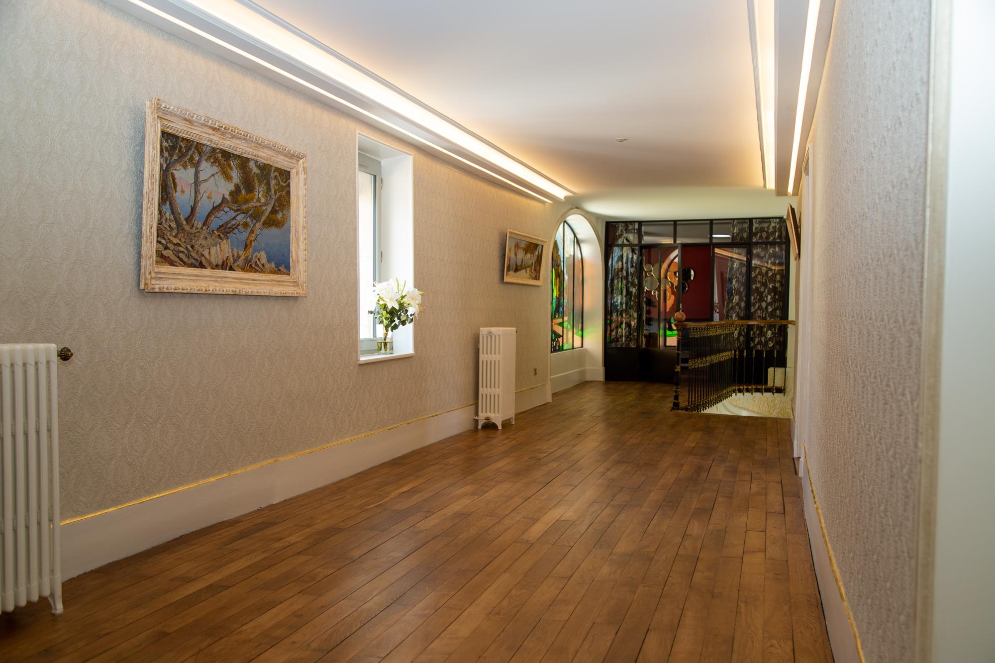 couloir chambres d'hôtes en Isère