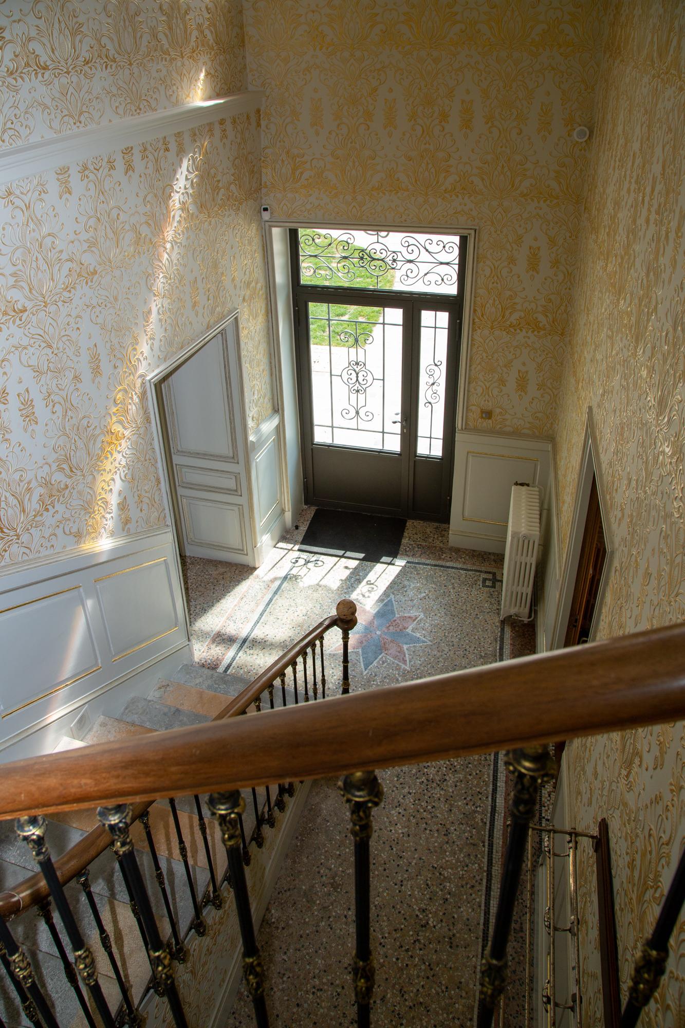 entrée chambres d'hôtes en Isère
