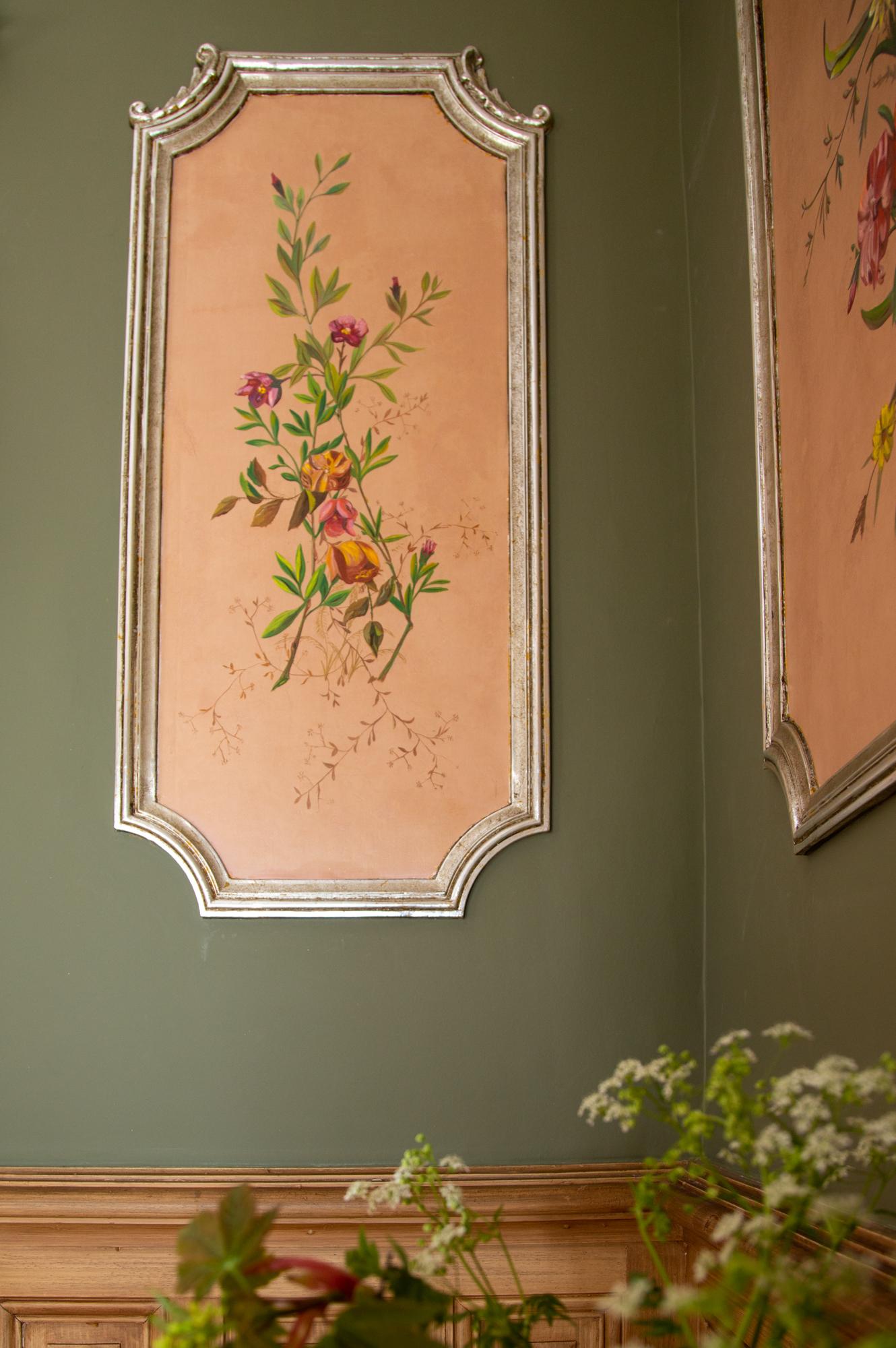 tableau de la salle petit-déjeuner chambres d'hôtes en Isère