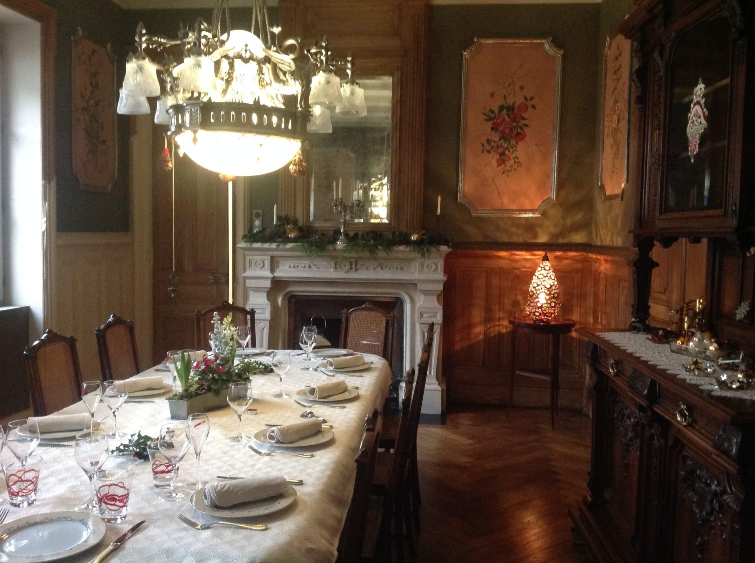 salle petit-déjeuner chambres d'hôtes en Isère